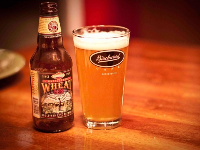 Unfiltered Wheat Beer